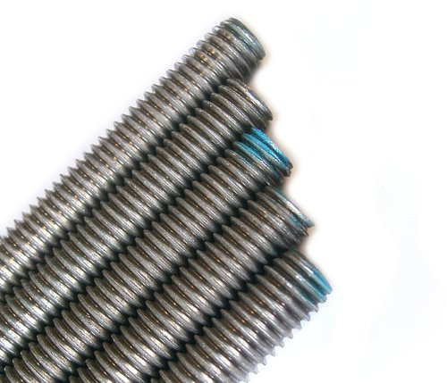Stainless Steel Threaded Rod 3/8-16 x 3FT (5 Piece Bundle)