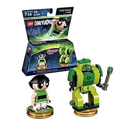 Lego Dimensions Building Toy Pack (Powerpuff Girls Buttercup 71343): Toys & Games