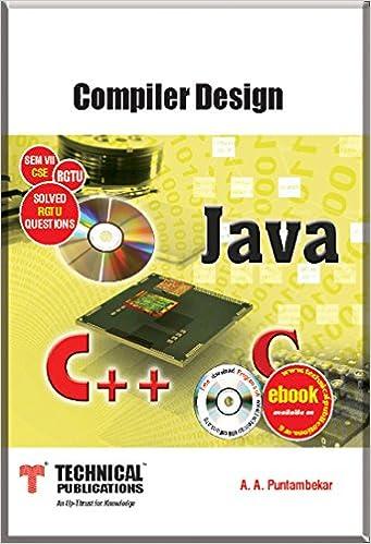 Puntambekar Compiler Design Book