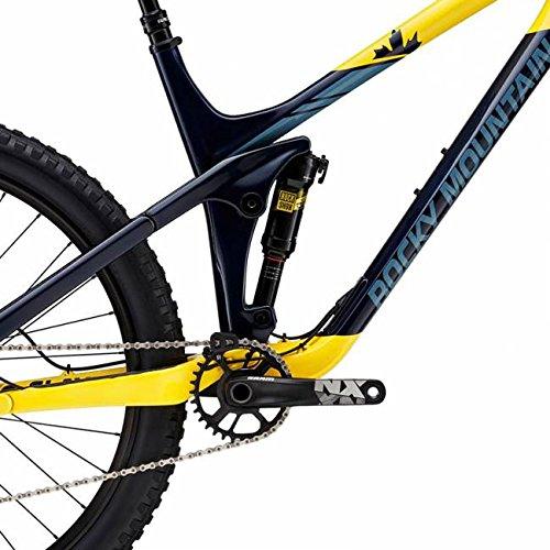 Bicicleta de montaña Rocky Mountain Slayer 730 MSL, colores azul y amarillo, amarillo: Amazon.es: Deportes y aire libre