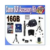 Digital SLR Camera 16GB SDHC Deluxe Accessory Saver Kit.