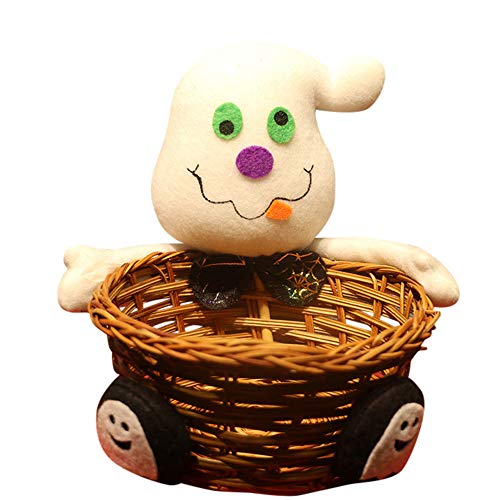 Halloween Candy Basket - Doll Fruit Decoration Bowl