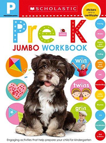 Jumbo Workbook: Pre-K (Scholastic Early Learners)