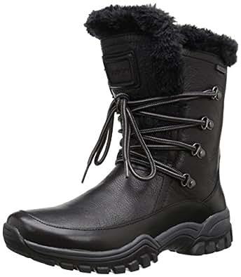 Amazon.com   Rockport Women's Finna Fur Waterproof Snow
