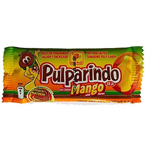 De la Rosa Pulparindo Mango Flavored Mexican candy