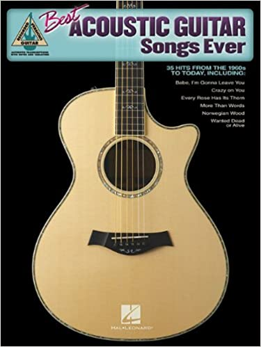 Amazoncom Best Acoustic Guitar Songs Ever 0884088104498