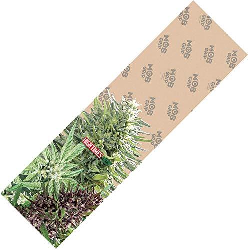【Mob Grip】 モブ グリップ 【High Times Clear Bud Sheet DECK TAPE】 9×33 (inch) 【Grip Tape】 デッキテープ SKATEBOARD スケボー グリップテープ クリア 透明