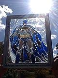 Batman Stained Glass Window Art Sun Catcher