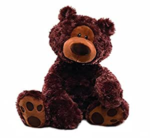 GUND Philbin Chocolate Teddy Bear Stuffed Animal, 18 inches