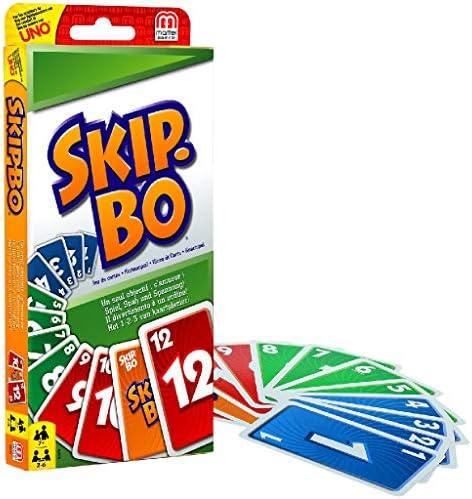 Mattel Games - Skip-Bo, Juego de Cartas (52370): Amazon.es: Juguetes y juegos