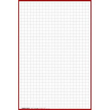 amazon com 24 x 36 large wet erase graph paper 1 4 laminated
