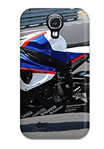 KristineWilliamsshop New Style Hot Design Premium Tpu Case Cover Galaxy S4 Protection Case(bmw Motorcycle)
