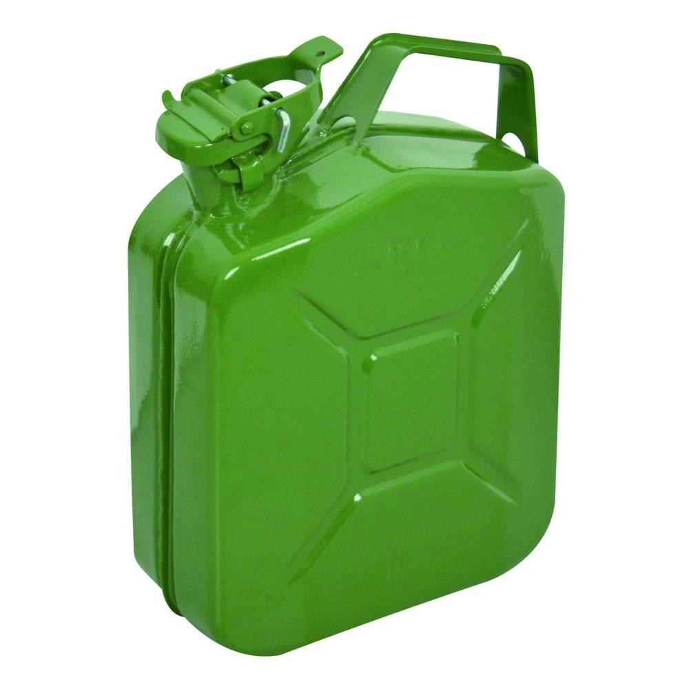 CARPOINT Bid/ón de gasolina 5L metal verde TUV//GS