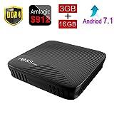 Forart M8S Pro Android 7.1 TV Box Amlogic S912 64 bit Octa core 3G/16G with 2.4G/5G WiFi BT 4.1 Set Top TV Box