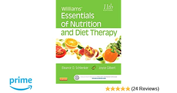 Williams' Essentials of Nutrition and Diet Therapy: 9780323185806: Medicine  & Health Science Books @ Amazon.com