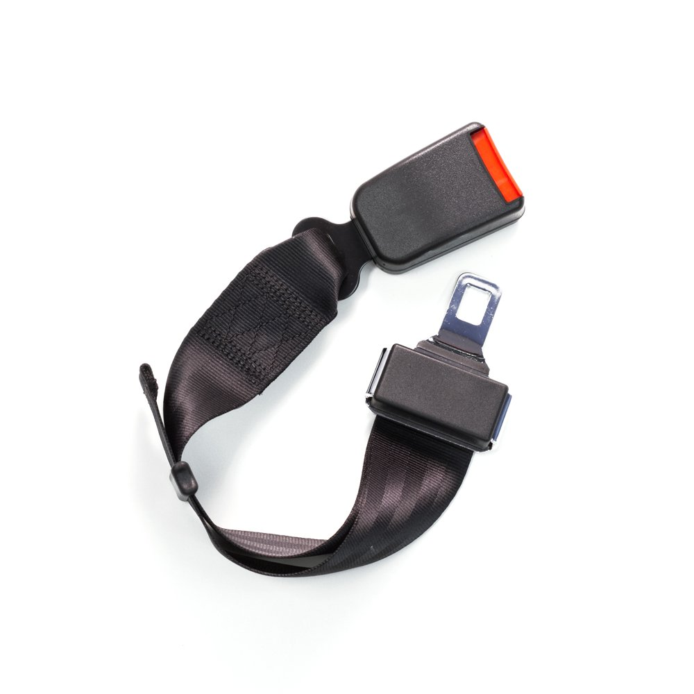 Adjustable 6-24 Seat Belt Lengthening Accessory with 7//8 Inch Metal Tongue Width E-Mark Safety Certification Buckle Up and Drive Safely Again