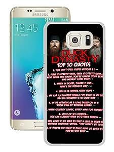 Samsung Galaxy S6 Edge Plus Case ,duck dynasty 5 White Samsung Galaxy S6 Edge+ Cover Fashionable And Unique Custom Designed Phone Case