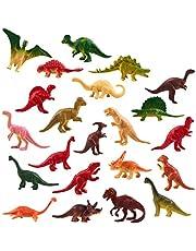 THE TWIDDLERS 90 mini-dinosaurussen, klein dino-speelgoed voor kinderverjaardag, cadeautjes, feestzakjes