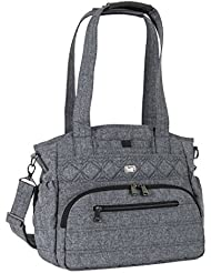 Lug Womens Windjammer Everyday Travel Tote, Heather Grey, One Size