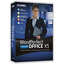 WordPerfect Office X5 Standard