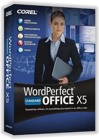 WordPerfect Office X5 Standard Upgrade [Old Version] (Paperport Windows 7)