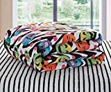 Emoji Bed in a Bag Twin Emoji Pals Zebra Emoji Teen Bedding, Twin, Multi