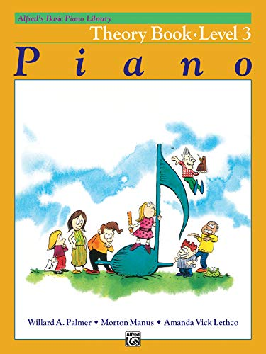 Alfred's Basic Piano Library Theory, Bk 3 ()