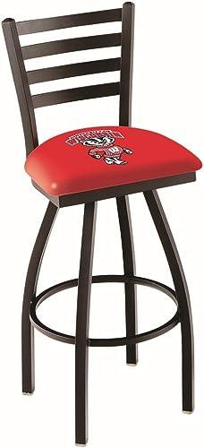 """NCAA Wisconsin Badgers """"Badger"""" Logo 30″ Bar Stool"""