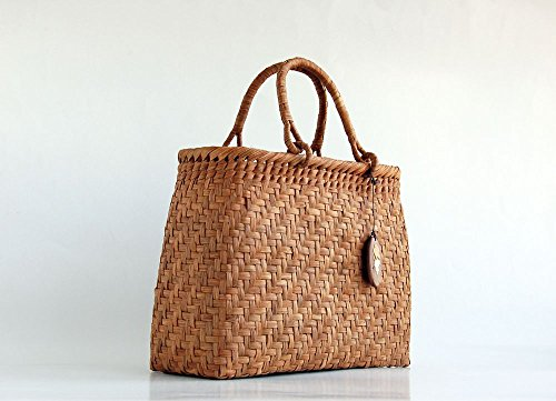 Yamako Mountain Grape Basket Handbag with Inner Cloth 88046 by Yamako (Image #8)