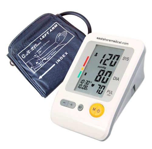 Health Sense Fully Automatic Upper Arm Blood Pressure Monitor Zsbp-103