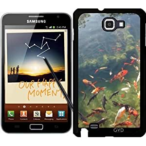 Funda para Samsung Galaxy Note GT-N7000 (I9220) - Koi Estanque 1 by Cadellin