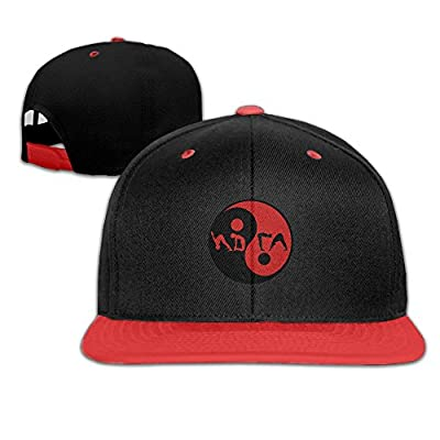 GUOFULIN Ying Yang Gym Adjustable Snapback Kids Hip Hop Hat Baseball Cap