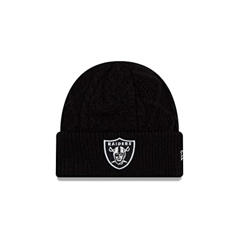 Image Unavailable. Image not available for. Color  New Era Oakland Raiders  Women s Frost Fresh Cuffed Knit Hat Cap 287a35821