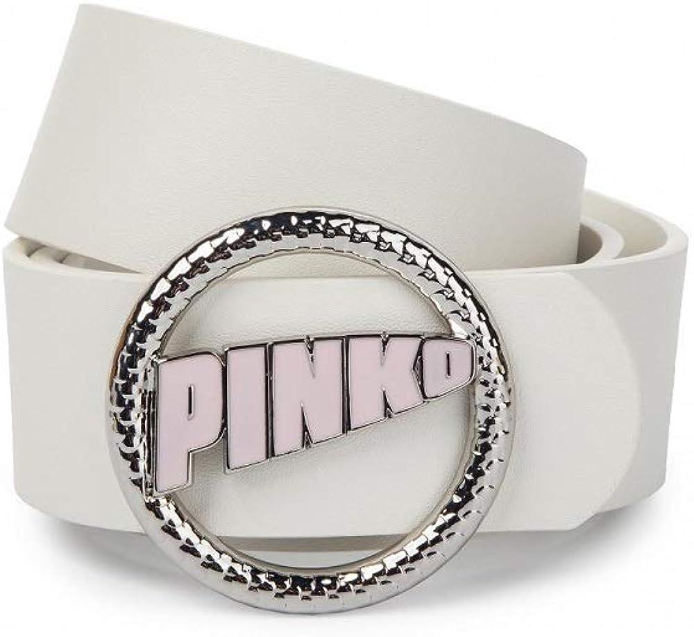 Pinko Cintura velata 1P21DB Y5HV ZW2 bianco//fuxia