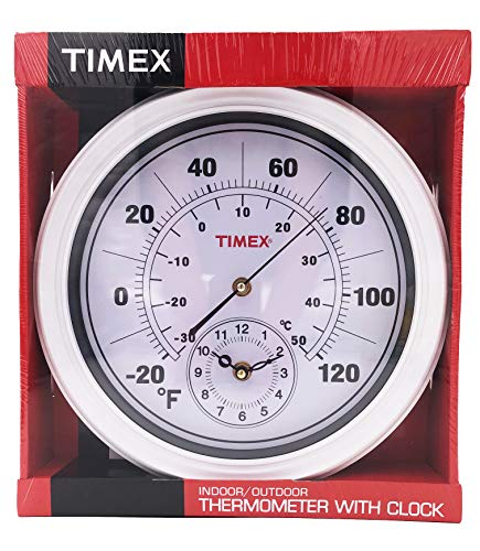 (Timex Indoor/Outdoor Thermometer with Clock)