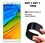 Original Tempered Glass For REDMI NOTE 5 - WOW Imagine (Buy 1 Get 1 Free) Unbreakable Nano Film Glass [ Better than Tempered Glass ] Screen Protector for Huawei XIAOMI MI REDMI NOTE 5