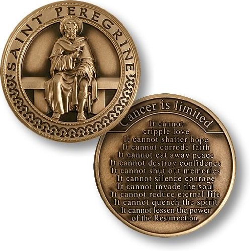 - Saint Peregrine - Cancer is Limited Coin
