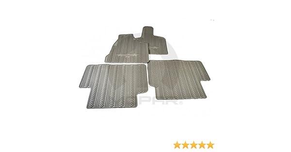 Mopar 82210731AC Medium Pebble Beige All-Weather Mat First and Second Row Mats 4 Pack