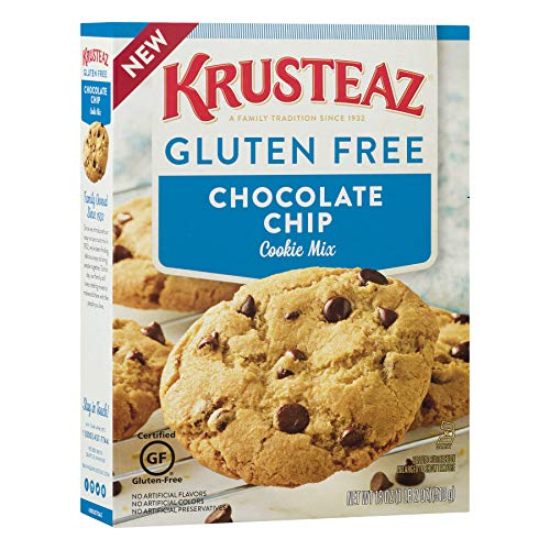 - Krusteaz Gluten Free Chocolate Chip Cookie Mix, 18 Ounce, Pack of 8