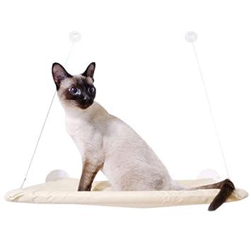 YangMi Cama para Mascotas- Suministros para Mascotas Sun Cat Hamaca Colgante de Verano Hamaca para Gatos ...