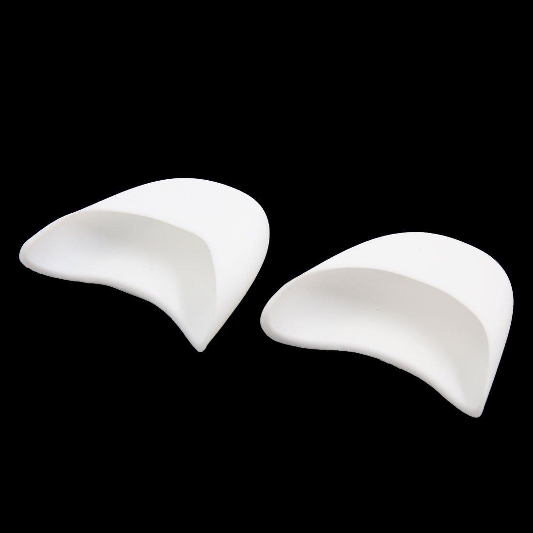 Amazon.com: eDealMax 1 par de silicona Blanca Gel Puntera de Pointe del Ballet Danza Zapatos Cojines Protector Para la Mujer: Health & Personal Care