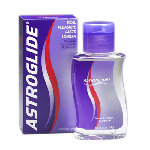 Astroglide Personal Lubricant, 2.5-Ounce Bottles (Pack of 2)
