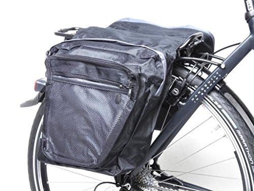 Gepäckträgertasche Fahrrad Packtasche doppelte Gepäck Transport Tasche Travel Bag