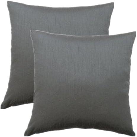 Amazon 40PC 404 X 404 Inches Faux Silk Decorative Pillow Cover Beauteous Faux Silk Decorative Pillows