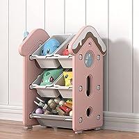 JT-House Children Deluxe Multi-Bin Toy Organizer, High Capacity Storage Unit, Kid?s Toy Organiser, Playroom Display…