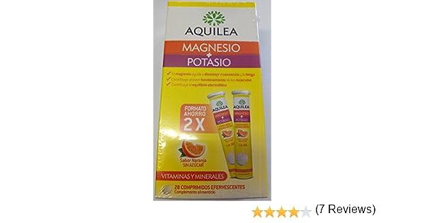 AQUILEA MAGNESIO + POTASIO 28 COMP EFER: Amazon.es: Salud y cuidado personal