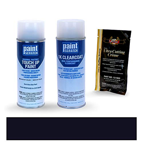 PAINTSCRATCH Dark Moon Blue Pearl WA467B/GDX for 2019 Buick Regal TourX - Touch Up Paint Spray Can Kit - Original Factory OEM Automotive Paint - Color Match Guaranteed