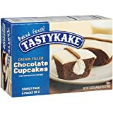 Tastykake, Cream Filled Chocolate MP Cupcake, 14.25 oz.