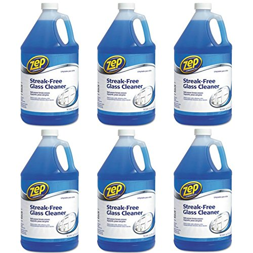 Zep Commercial - Streak-Free Glass Cleaner, Pleasant Scent, 6 gal Bottle ZU1120128 (DMi EA by Zep Commercial