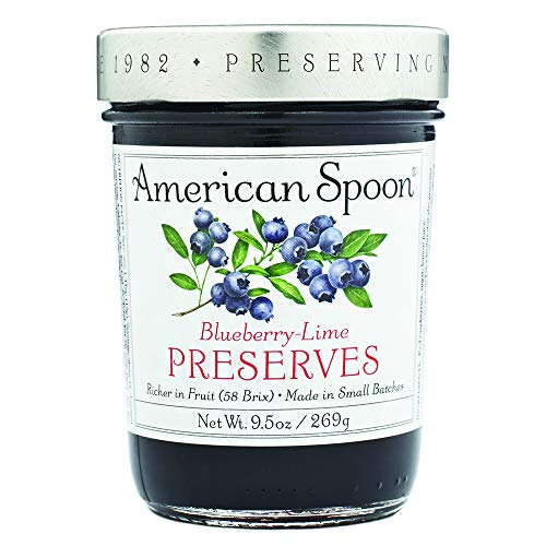 American Spoon Foods Blueberry Lime Preserves Pack of 4 by American Spoon Foods